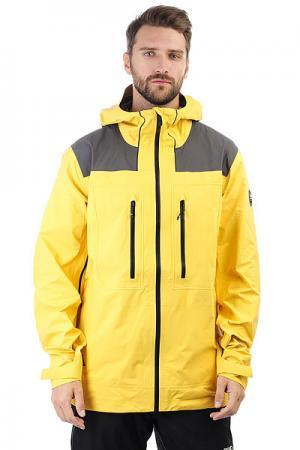 Куртка утепленная  Mamatus G 3l Solar Power Quiksilver. Цвет: желтый,серый