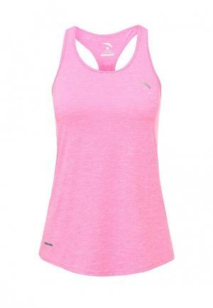 Майка спортивная Anta. Цвет: розовый