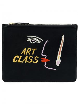 Клатч Art class Lizzie Fortunato Jewels. Цвет: чёрный