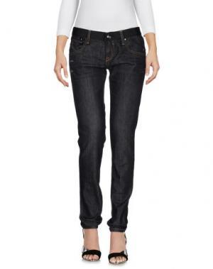 Джинсовые брюки EIGHTH SIN. Цвет: стальной серый