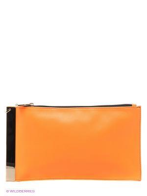 Клатч Sabellino. Цвет: оранжевый