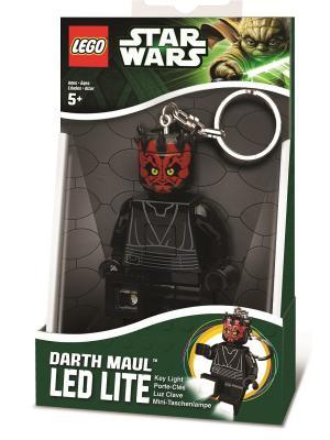 Брелок-фонарик для ключей LEGO Star Wars - Darth Maul (Дарт Мол). Цвет: черный, красный