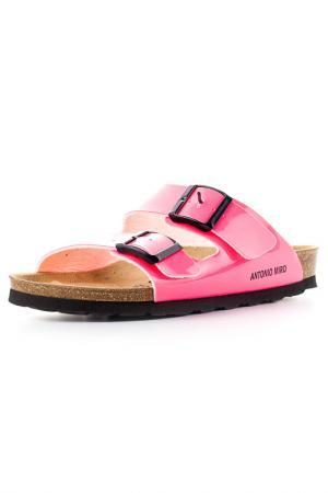 Пантолеты Antonio Miro. Цвет: розовый