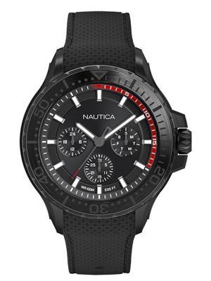 Часы Nautica. Цвет: черный