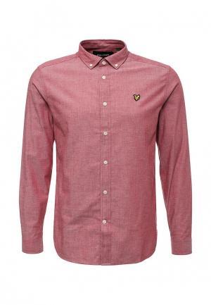 Рубашка Lyle & Scott. Цвет: красный