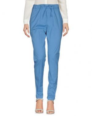 Повседневные брюки PERFECTION. Цвет: пастельно-синий