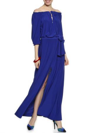 Платье Alina Assi. Цвет: васильковый