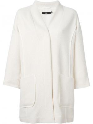 Пальто с рельефной строчкой Stills. Цвет: телесный