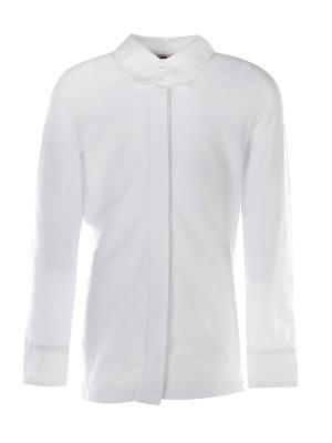 Блузка M-Bimbo. Цвет: белый, бежевый