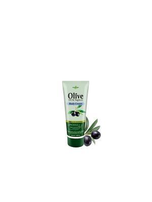Герболив мини крем для тела с йогуртом, 50мл Madis S.A.. Цвет: оливковый