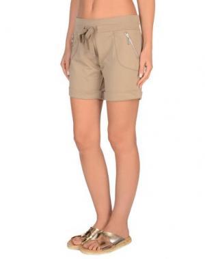 Пляжные брюки и шорты TWIN-SET Simona Barbieri. Цвет: бежевый