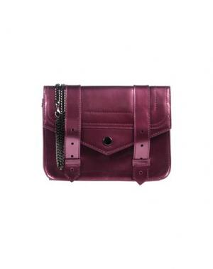 Бумажник PROENZA SCHOULER. Цвет: пурпурный