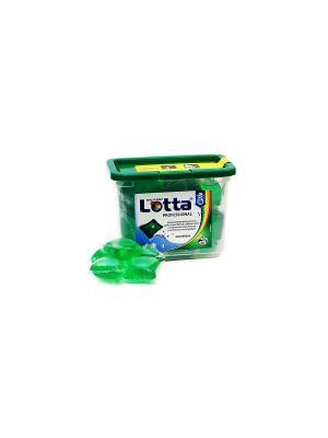 Гель  для стирки концентр. в капсулах LOTTA UNIVERSAL 26 шт. (26*30 гр). Цвет: зеленый