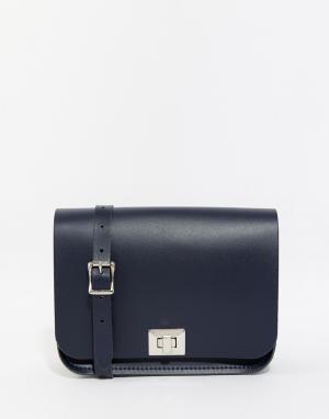 Leather Satchel Company Сумка Pixie. Цвет: темно-синий