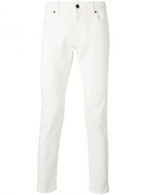 Slim fit jeans Pence. Цвет: белый