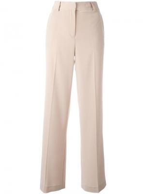Широкие брюки DKNY. Цвет: телесный