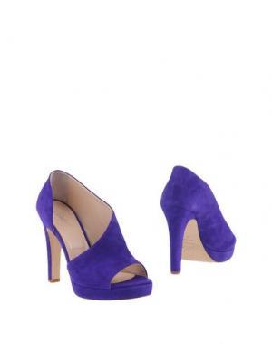 Ботинки CARLA G.. Цвет: темно-фиолетовый