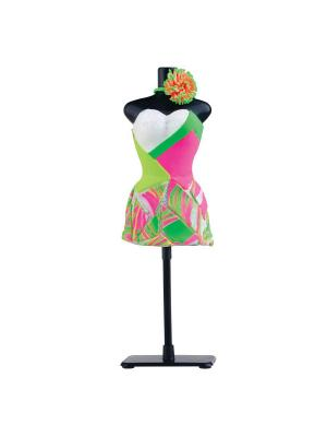 Набор для творчества с пластилином Fashion Dough и манекеном Toy Target. Цвет: розовый