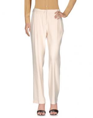 Повседневные брюки 57 T. Цвет: слоновая кость
