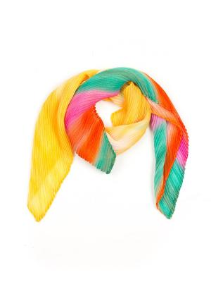 Платок Pretty Mania. Цвет: желтый, оранжевый, розовый