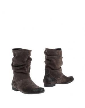 Полусапоги и высокие ботинки KEYS. Цвет: свинцово-серый