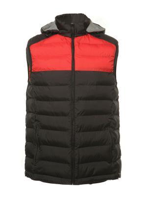 Жилет H&H.. Цвет: черный, красный