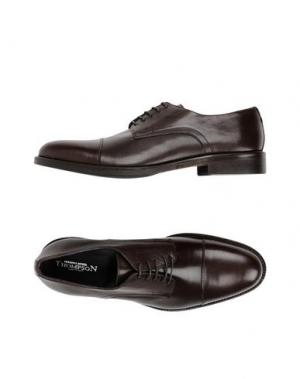 Обувь на шнурках THOMPSON. Цвет: темно-коричневый