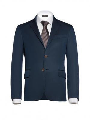 Пиджак btc. Цвет: темно-синий