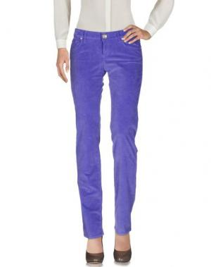 Повседневные брюки SEVEN7. Цвет: фиолетовый