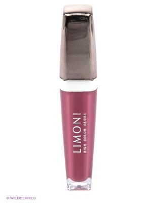 Блеск для губ  Rich Color Gloss, тон 110 Limoni. Цвет: сливовый