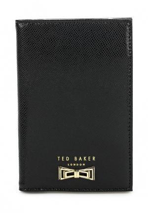 Обложка для документов Ted Baker London. Цвет: черный