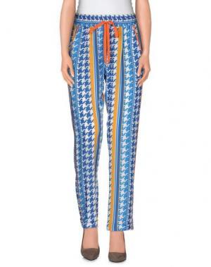 Повседневные брюки EMMA COOK. Цвет: лазурный