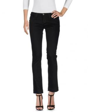 Джинсовые брюки MUSTANG. Цвет: черный