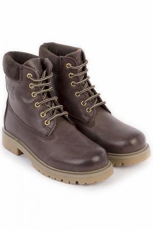 Ботинки POLO CLUB С.H.A.. Цвет: коричневый
