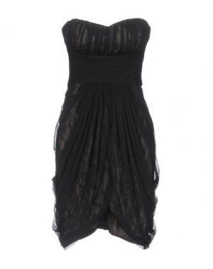 Короткое платье MANOUKIAN. Цвет: черный