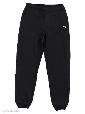 Брюки ESS Sweat Pants, FL, cl. Puma. Цвет: черный