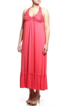 Платье Cotton Club Mare. Цвет: коралловый
