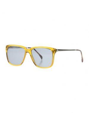 Солнечные очки SHERIFF & CHERRY. Цвет: охра