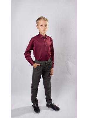Рубашка OZORNIK. Цвет: темно-бордовый