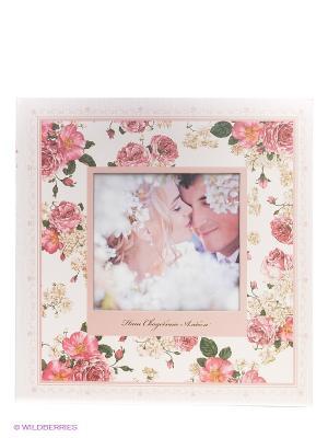 Фотокнига в коробке Wedding story VELD-CO. Цвет: розовый
