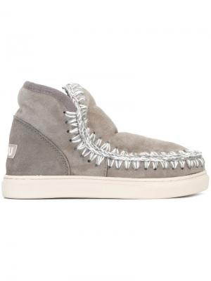 Ботинки Mini Eskimo Mou. Цвет: серый
