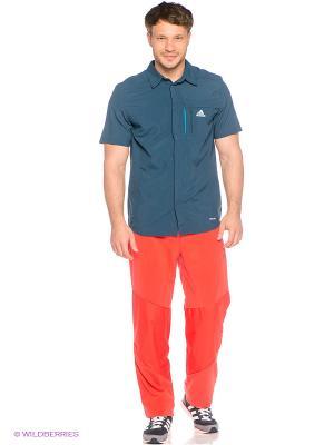 Брюки S WINDFLEECE P Adidas. Цвет: оранжевый