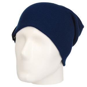 Шапка носок  Basic Style Navy TrueSpin. Цвет: синий