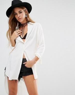 Lira Длинная рубашка. Цвет: белый