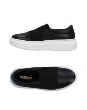 Низкие кеды и кроссовки FABIO RUSCONI. Цвет: черный