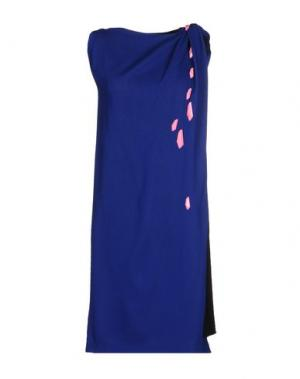Короткое платье DAVID SZETO. Цвет: ярко-синий