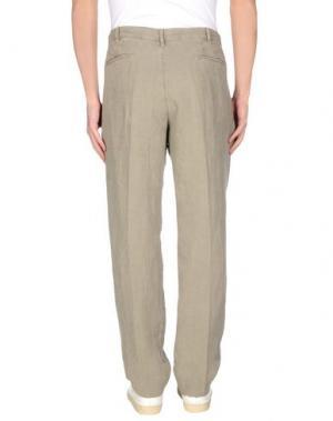 Повседневные брюки J.W. BRINE. Цвет: зеленый-милитари