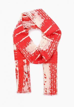 Палантин Moltini. Цвет: красный