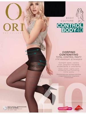 Колготки ORI Control Body 40 den. Цвет: черный