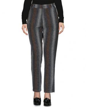 Повседневные брюки LOCAL APPAREL. Цвет: свинцово-серый